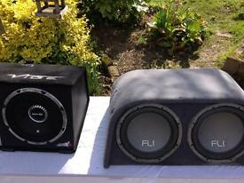 FLI Active trap twin 2000 watts sub