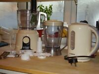 Food Processor and kettle for sale