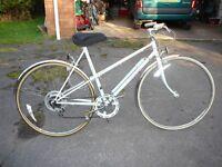 Raleigh Panache ladies retro bike