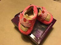 Pediped cupcake crib shoes 0-6 mo