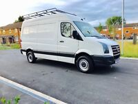 Vw Crafter Cr35tdi 2.5tdi 6 speed manual medium size 59 plate but is 2010 full history service