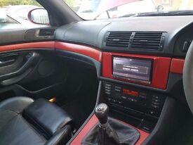 BMW E39 530 Sport 2001, 3 litre, 6 cylinder, Manual, Petrol, M5 Replica, Rare Imoli Red, Saloon
