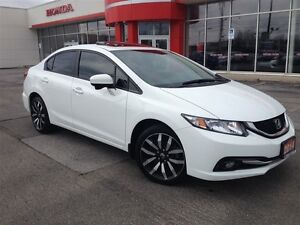 2014 Honda Civic Touring| LOADED| ONE OWNER| ACCIDENT FREE