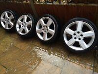 17inch 5 stud Vauxhall alloys