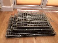 Dog cage & gate for sale - Must Go !!!