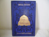 THE SONGS OF SCOTLAND,HARDBACK,ROYAL EDITION FROM 1877