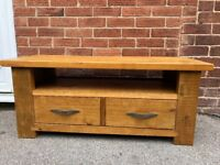NEXT Hartford Coffee Table & TV Unit Set Solid Wood