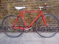Custom built Bertin Singlespeed Bike Columbus Steel Frame