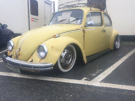 VW Beetle 1972 Air ride