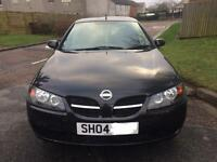 2004 Nissan Almera 5 door Black