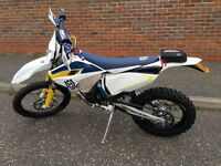 Husqvarna te125 2015 (65) plate may px 300 2 smoke road reg low hours 1 owner from new mint