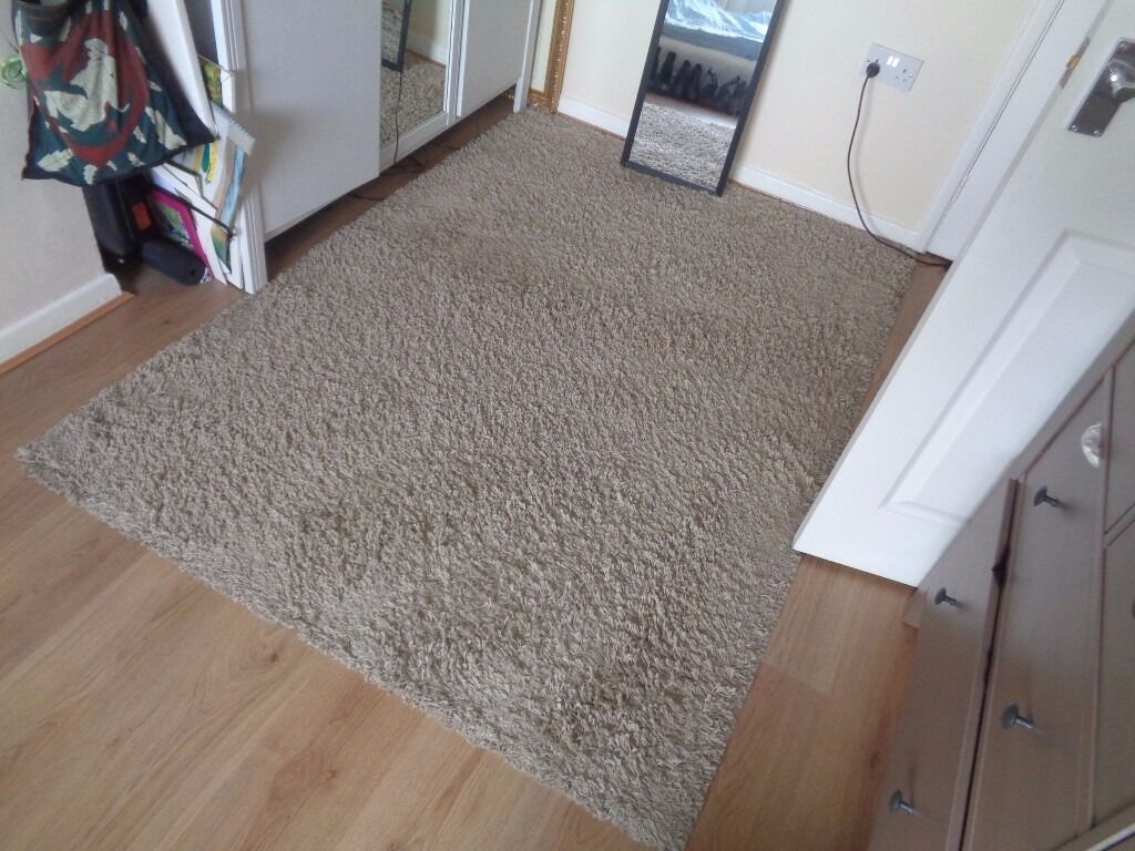 Ikea Hampen High Pile Rug 133 195 Cm In Dundonald