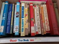 Collection of old books mostly Enid blyton