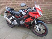 honda cbr 125 very nice running bike 2005 full mot ready to go