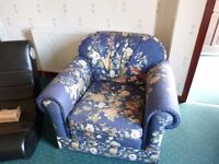 Free Sofa, Games Chair and Glass TV Unit - MUST BE COLLECTED 13th/14th MARCH.