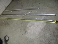 Unused long Tube Heaters 8' & 10' - Ideal for Greenhouse & many other uses