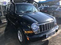 JEEP CHEROKEE 2.8 LIMITED CRD 5d AUTO 161 BHP (black) 2005