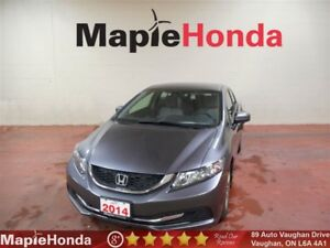 2014 Honda Civic LX| Bluetooth, Power Group Options!