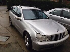 Mercedes benz C240 Avantgarde estate- full service history most with Mercedes