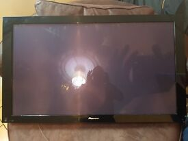 Pioneer 43inch plasma tv open to offers