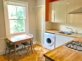 Recently refurbished 2 bed split level flat with separate eat in kitchen, Streatham Common station