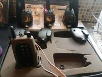 Set of 3 fox ntxr alarms