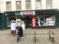 Newsagent and convenience store for sale- Haddington