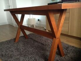 Small Dining or Side Console Table