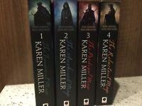 Fantasy series by Karen Miller