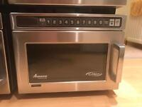 AMANA UHDC5142 COMMERCIAL MICROWAVE 1400 WATTS