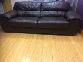 (Sold)Plush 3 Seater Sofa Immaculate condition
