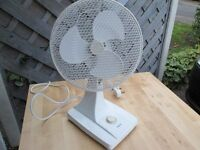 SMALL ELECTRIC FAN WORKING ORDER