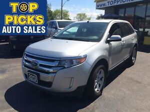 2013 Ford Edge SEL, ECOBOOST, ALLOYS, POWER SEAT, AND MORE!