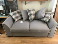"Brand new sofa bed. 69 "" length 34.5"" deep Grey"