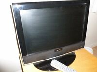 BUSH 19 inch TV with built in DVD player