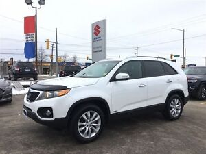 2011 Kia Sorento LX AWD ~Low Km's  ~Heated Seats ~Hood Deflector