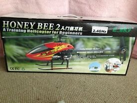 Honey bee 2 helicopter