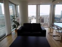SUPERB STYLISH 2 BEDROOM APARTMENT IN THE INFAMOUS LANDMARK EAST TOWER CANARY WHARF