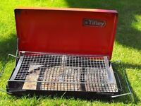 Tilley camping barbecue