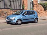 2006 Hyundai Getz 1.1 GSI 5 Door Hatchback, Full Service History, Long MOT!