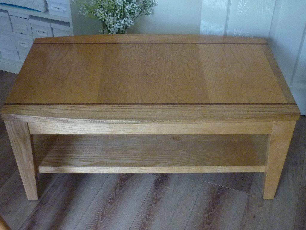Marks And Spencer Solid Oak Coffee Table In Sdwell Bristol Gumtree