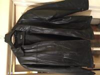 Mens leather jacket (Zahra) size Large £15 cash never been worn