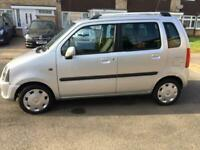 Vauxhall Agila Design, Small MPV, No ULEZ charge, Only 45000 miles, 1 previous owner