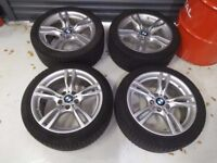 "BMW 3 Series F30 F31 18"" M Sport Winter Wheels and Tyres"