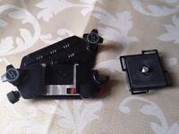 DSLR camera belt clip
