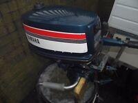 Yamaha 4hp Two Stroke Outboard motor.