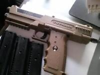 Tipx paintball pistol package with HK mask and hpa tank w/remote