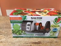 Salter 3-in-1 Spiralizer New and Unused