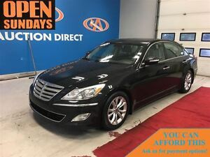 2013 Hyundai Genesis 3.8 PREMIUM! LEATHER! SUNROOF! FINANCE NOW!