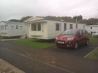Static Holiday Caravan With Own Parking Space